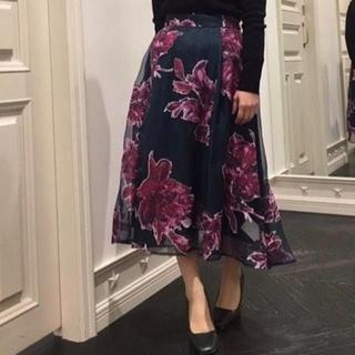 FRAY I.D - FRAY I.D オパールミモレフレアースカート サイズ0