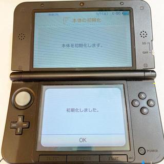 ニンテンドー3DS - NINTENDO 3DSLL 任天堂 グレー  ケース アダプター 付き