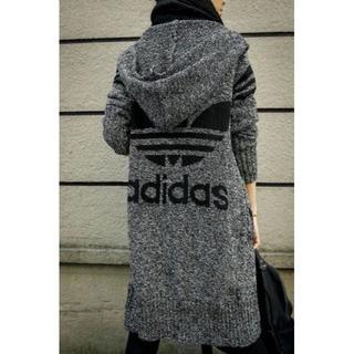 アディダス(adidas)の新入荷 アディダス人気ニットコート(ニット/セーター)
