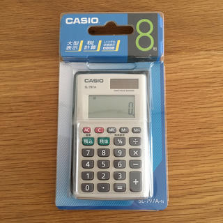CASIO - 【未開封】CASIO カシオ 電卓 SL-797A