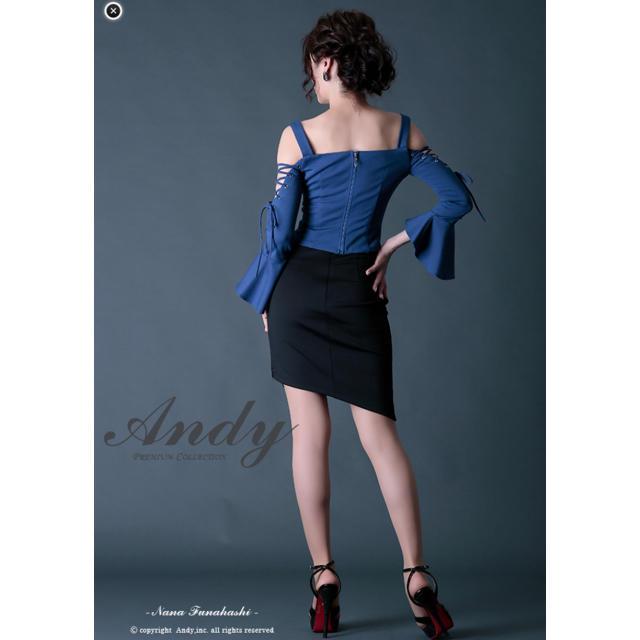 Andy(アンディ)のglamorous andy キャバドレス  S セットアップ レディースのフォーマル/ドレス(ナイトドレス)の商品写真