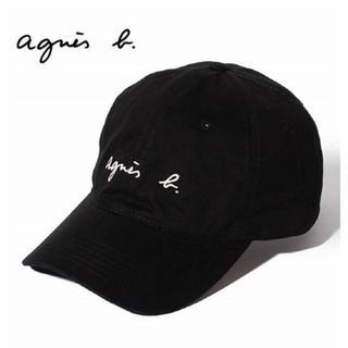 agnes b. - 新品 アニエスベー キャップ 黒 アニエス・ベー