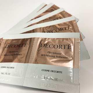 コスメデコルテ(COSME DECORTE)のコスメデコルテ AQMW フィトチューン ホワイトニング ソフナー×10p(サンプル/トライアルキット)