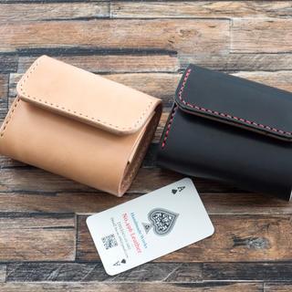 【げんごろう様専用】新ミニマムウォレット【フラップタイプ】(折り財布)