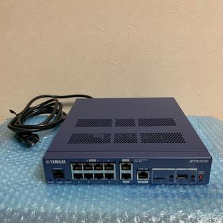 ヤマハ(ヤマハ)のYAMAHA RTX1210 ファームウェアアップデート済み 初期化済み(PC周辺機器)