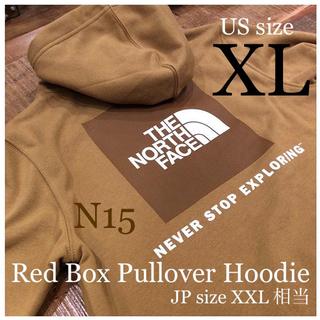 THE NORTH FACE - 【XL】XXL相当 ノースフェイス パーカー ブリティッシュカーキ ボックスロゴ