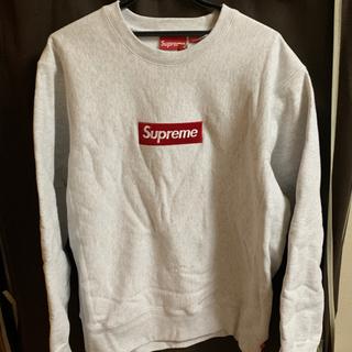 Supreme - Supreme Box Logo Crewneck Ash Grey L
