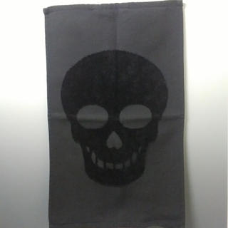 エイチアンドエム(H&M)のH&M フェイスタオル4枚セット スカル&ゼブラ(タオル)