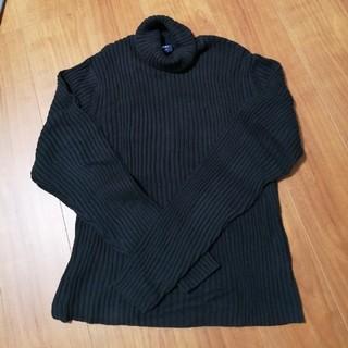 ギャップ(GAP)のGAP タートルネックセーター ブラック s/p(ニット/セーター)