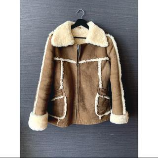 EDIT.FOR LULU - vintage mouton coat