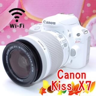 Canon - カワイイ大人気一眼レフ♪キヤノン Kiss X7☆