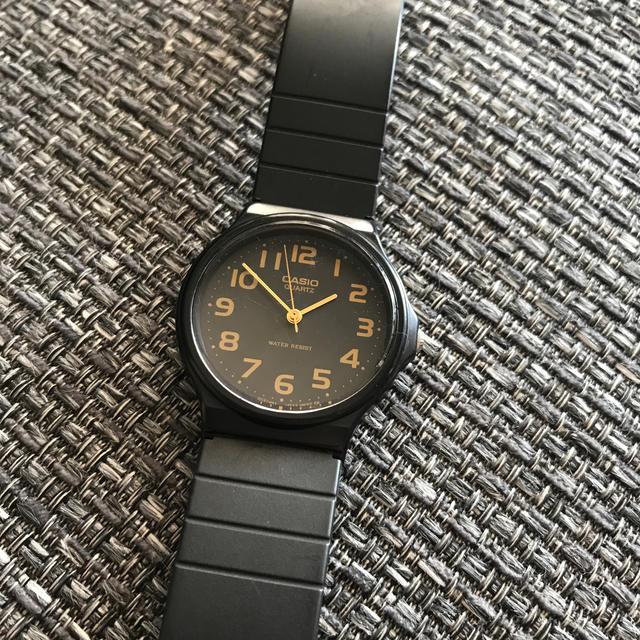 CASIO - CASIO / カシオ  スタンダード クォーツ ラウンドフェイス腕時計 の通販