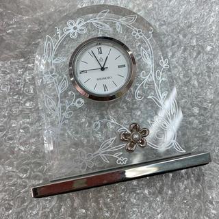 ミキモト(MIKIMOTO)のミキモト mikimoto パール クリスタル置き時計(置時計)