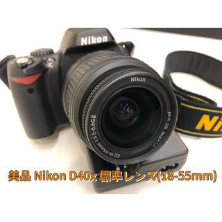 Nikon - 極美品 名機 Nikon D40x 軽量 シャッター数少な目 一眼初心者にも