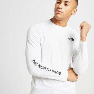 THE NORTH FACE - 新品❗️ノースフェイス ロゴロンT 白 S(日本サイズM相当)