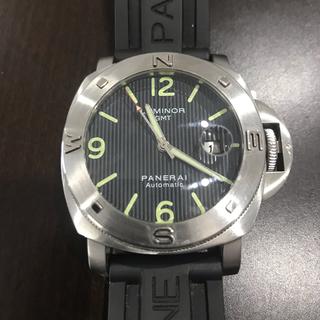 腕時計 自動巻 GMT  美品  重厚感 PANERAI(腕時計(アナログ))