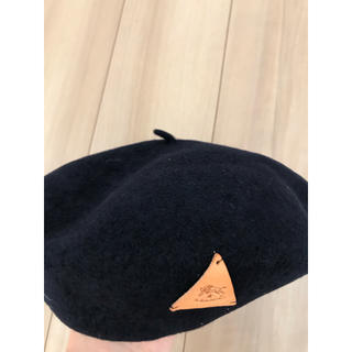 """IL BISONTE - 新品""""イルビゾンテのベレー帽"""""""