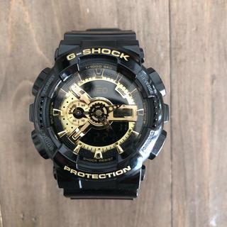 ジーショック(G-SHOCK)のCASIO G-SHOCK  GA-110GB  ブラック ゴールド(腕時計(デジタル))