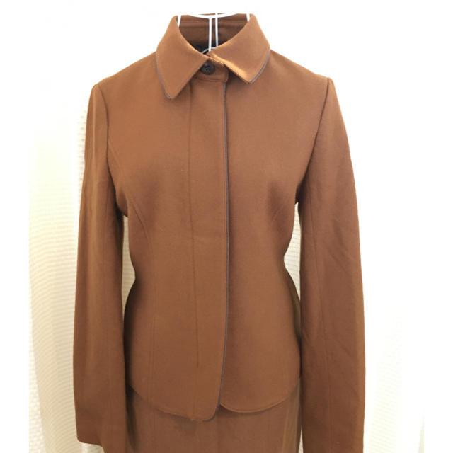 INDIVI(インディヴィ)の⚫︎INDIVI 無地 襟付きジャケット ジッパー 日本製 #Cattleya レディースのジャケット/アウター(テーラードジャケット)の商品写真