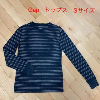 ギャップ(GAP)のGap  ボーダートップス Sサイズ(スウェット)