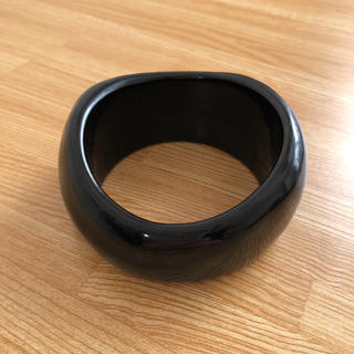 TODAYFUL - TODAYFUL Wide Acrylic Bangle ブラック