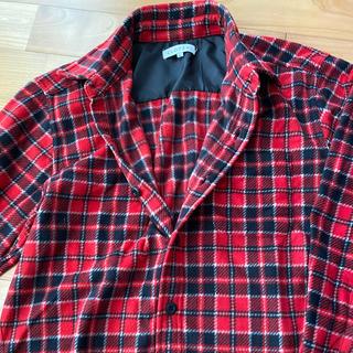 しまむら - しまむら フリース素材シャツ