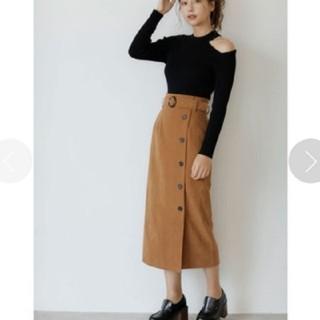 INGNI - 【新品】ベルト付きピーチナロー スカート