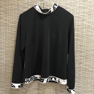 LEONARD - レオナール 長袖 カットソー トップス size38  ブラック