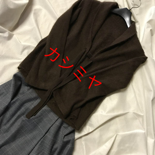 leilian - レリアン♡カシミヤジャケットカーディガン
