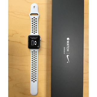 アップルウォッチ(Apple Watch)のApple Watch series3 Nike 42mm GPS(腕時計(デジタル))