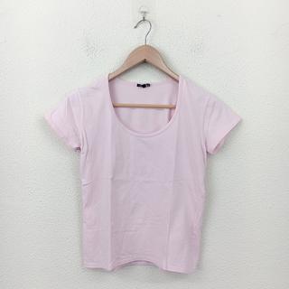 セオリー(theory)のTheory セオリー Tシャツ 半袖 4 ピンク 無地 シンプル エレガント(Tシャツ(半袖/袖なし))