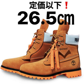 A BATHING APE - READY MADE x Timberland 6-inch Boots