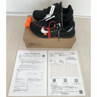 NIKE - US9 Nike Air Presto THE 10 Off-White