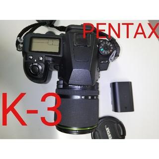 ペンタックス(PENTAX)の【ショット数19800回】PENTAX K-3 18-135レンズキット(デジタル一眼)