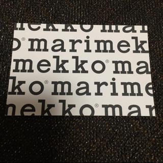 marimekko - マリメッコ marimekko ショップカード