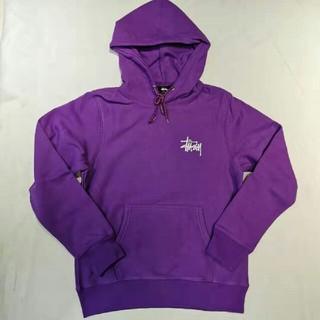 STUSSY - Stussy パーカー Mサイズ 紫 ステューシー