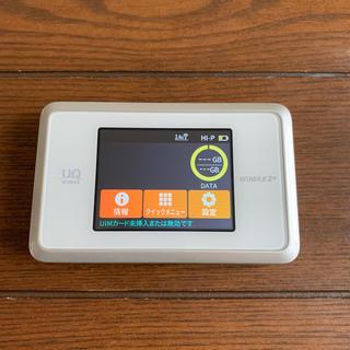 エヌイーシー(NEC)のWiMAX 2+ Speed Wi-Fi MEXT WX03(その他)