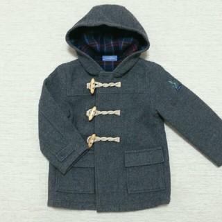 familiar - [110]美品ファミリア コート グレー