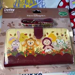 ディズニー(Disney)のダッフィー スマートフォンケース(モバイルケース/カバー)