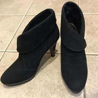 DIANA - ダイアナ ブーティ ショートブーツ ブラック スエード