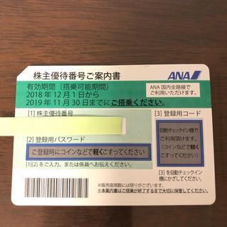ANA(全日本空輸) - ANA株主優待券(11/30〆)