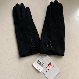 23区 - 【新品タグ付き】23区  黒 の 手袋