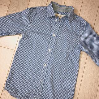 エイチアンドエム(H&M)のH&M☆チェックシャツ 130cm(ブラウス)