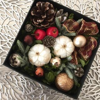 ソープカービング(石鹸彫刻)クリスマスアレンジメント(その他)
