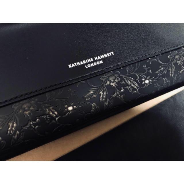 KATHARINE HAMNETT(キャサリンハムネット)の【オススメ】キャサリン ハムネット カウレザー 長財布  新品未使用 メンズのファッション小物(長財布)の商品写真