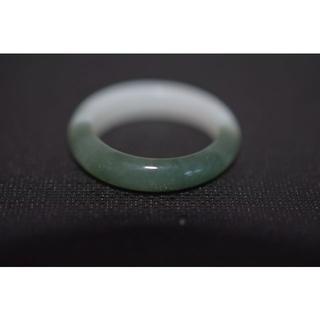 メ115-1 14.5号 天然翡翠リング レディース メンズ 硬玉(リング(指輪))