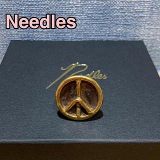 ニードルス(Needles)のNeedles ニードルス  ビッグピースリング 21号 ブラス 真鍮製 指輪(リング(指輪))