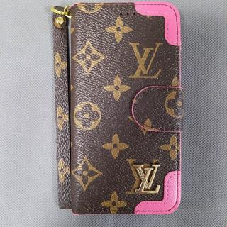 LOUIS VUITTON - 手帳型 iPhoneケース LOUIS VUITTON 大人気