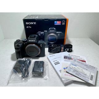 SONY - sony α7III 購入店記名有り保証書付属 超美品