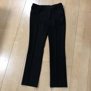 Luxjewel  パンツ クロップドパンツ 黒(クロップドパンツ)